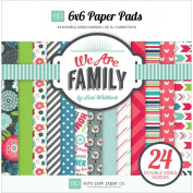 Echo Park Paper Company WAF66023 We Are Family Paper Pads Scrapbook