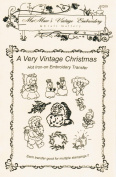 A Very Vintage Christmas Hot Iron Embroidery Transfers