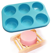 Round Circles Soap Silicone Mould Chocolate Jelly Muffin Cupcake Baking Mould