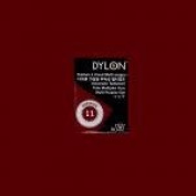 Dylon Multi-purpose Dye#11 Bordeaux 5 G. For Cotton, Linin, Wool, Nylon, Wood, Button, Plastic, Shell, Feather, Dried Flower Etc.
