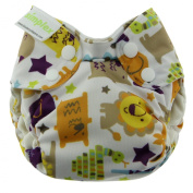 Blueberry Simplex All in One Nappies, Jungle Jam, Newborn