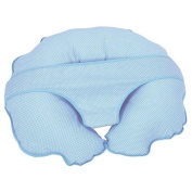Cuddle U Nursing Pillow & More - Blue Pin Dot