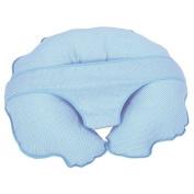 Cuddle U Nursing Pillow & More - Blue Pin Dot