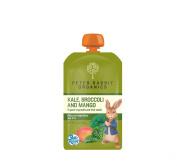Peter Rabbit Organics Kale, Broccoli and Mango, 130ml Pouches