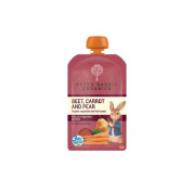 Peter Rabbit Organics Beet, Carrot and Pear, 130ml Pouches