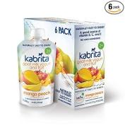 Kabrita Goat Milk Yoghurt and Fruit - Mango Peach 120ml