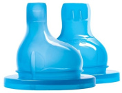 Pura Kiki XL Sipper withSilicone Sip Spouts, 6 Months+, 2-Count
