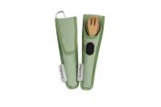 To-Go Ware RePEat Bamboo Kids Utensil Flatware Set- Kiwi