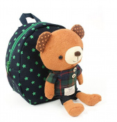 Gaorui 2013 New Baby Toddler Child Kid Cartoon Backpack Schoolbag Shoulder Bags _ Bear Navy