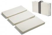 MamaDoo Kids Playard Foldable Mattress Topper - Silver Grey