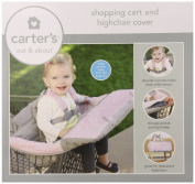 Carter's 2-In-1 Shopping Cart Cover, Pink