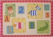 ABC Baby Mom Grandmother Brag Book Photo Album - Holds (40) 4 x 6 Pictures