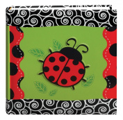 Pioneer Photo Albums 200-Pocket 3-D Lady Bug Applique Cover Photo Album, 10cm by 15cm