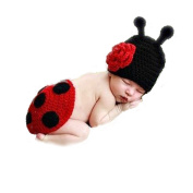 Topicker Newbaby Girls Boy Newborn 0-2 Year Knit Crochet Clothes Photo Prop Outfits