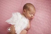 Natural Feather Angel Butterfly Wings, Newborn, Baby, Photo prop CHOOSE Colours or WHITE