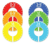 Stitch #69 Baby Closet Dividers Boy Clothes Organisers Set of 6