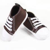 Fashionwu Infant Toddler Baby Boy Girl Soft Sole Crib Shoes Sneaker Coffee 9-12 Months
