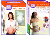 Basic Pregnancy Belly Cast Kit Plus A Pregnancy Belly Painting Kit