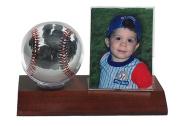Little MVPs Handprint Baseball & Photo Frame Display Kit