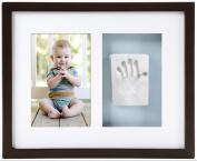 Pearhead Babyprints Wall Frame, Espresso