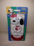 Rare! Peanuts Baby Snoopy Rattle