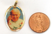 Blessed By Pope Francis John Paul II- Juan Pablo II Medal Engravable