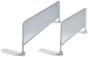 Sorelle Mesh Bed Rail, White, 150cm