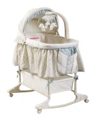 Delta Enterprise Corp Clayton Rocking Bassinet