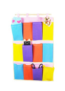 Cool2day Wall Door Cloth Colourful Hanging Storage Bags Case Pocket Home Organisation (Model