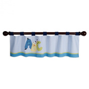 Lambs & Ivy Window Valance, Alpha Baby