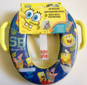 SPONGE BOB spongebob Nickelodeon Soft Potty Seat with hook & handles