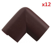 SUPON 12pcs Soft Baby Safety Corner Edge Cushion Desk Table Cover Protector Pads Child Coffee