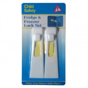 2 New Refrigerator Fridge Freezer Door Lock Baby Child Safety Secure Stick Latch