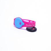 My BuddyTag - Pink Silicone Wristband