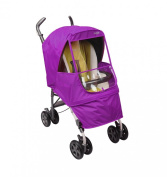 Manito Elegance Alpha Stroller Weather Shield / Rain Cover - Purple