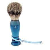 Finest Badger Long Shaving Brush - Blue, 1pc