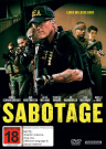 SABOTAGE [DVD_Movies] [Region 4]