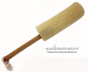 "The Utimate Loofah Back Brush 20cm Loofa with Wooden Handle by Spa Destinations® ""Creating The In Home Spa Experience"" Best Quality! Best Value!"