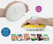 Anti Cellulite Massage Brush + 6 Free Ebooks and Full Instructional Guide - The Best Way to Get Rid of Cellulite Fast - Increases blood flow and breaks up fat deposit - Great for losing belly fat or love handles - Helps reducing fat from thighs and but ..