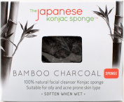 The Japanese Konjac Sponge, Bamboo Charcoal Sponge