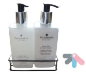 Pecksniffs Gardenia & White Peach Hand Wash and Body Lotion Set