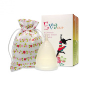 Menstrual Cup - EvaCup Moon Stone - (Large, Moon Stone) Free Shipping