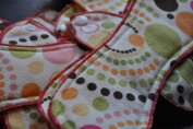Organic Bamboo & Cotton Cloth Menstrual Pads-Overnight Size/long (Set of 5) -Most popular size offered!!