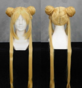 Flyingdragon Sailor Moon-Tsukino Usagi Golden Cosplay Long Wig
