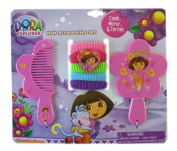 Dora the Explorer Comb, Mirror, & Terries Set 7pc