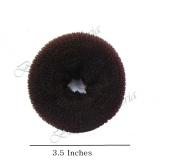 Beaute Galleria - Medium Brown Chignon Hair Donuts Ring Style Bun Maker