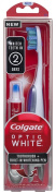 Colgate Optic White Toothbrush Plus Whitening Pen, Compact Head Medium
