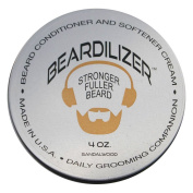 Beardilizer ® Beard Growth Conditioner And Softener Cream - Hypoallergenic Formula - Sandalwood - 120ml