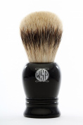 "High Density Premium Silvertip Badger Shaving Brush WSP ""Prince"" Black"