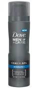 Dove Men+Care Shave Gel, Hydrate Plus 210ml